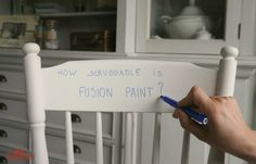 How scrubbable is Fusion™ Mineral Paint?