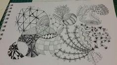 Circles #zentangle