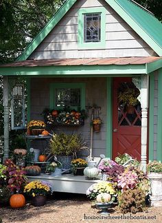Fall Around The Potting Shed