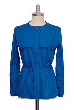 blaue casual Bluse aus feiner Batist Baumwolle - Sveekery Berlin Ethical Fashion Brands, Luxury Branding, Berlin, Organic Cotton, Silk, Wool, Elegant, Casual, Blouse