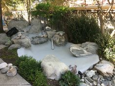 Resurfaced our pond with DryLock mortar waterproofer. Looks great