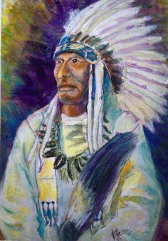 Bill Kassel Fine Art Studio: Crazy Horse - Finished