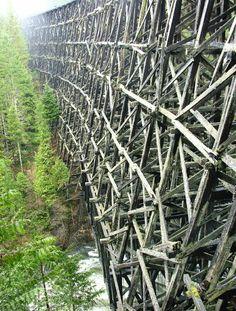 Kinsol Trestle, Vancouver Island Canada