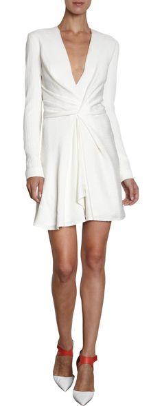 J. Mendel Long Sleeve Dress