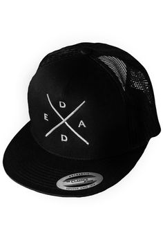 CLASSIC TRUCKER SNAPBACK - D.E.A.D Snapback, Hats, Classic, Accessories, Collection, Fashion, Moda, Hat, Fashion Styles