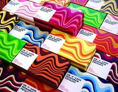 Color in chocolate #packaging PD
