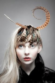 Wood Nymph Hat for photoshoot - Botanist Range