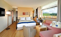 Our spa hotel Falkensteiner Hotel & Spa Bad Leonfelden offers 117 rooms and suites, a wellness & water world, excellent cuisine and more. Spa Hotel, Austria, Bed, Rooms, Furniture, Beautiful, Home Decor, Bedrooms, Decoration Home