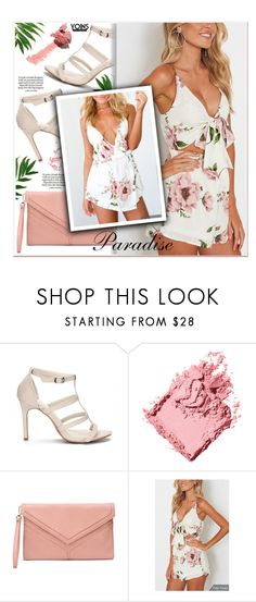 """""""Floral Print - Yoins"""" by yexyka ❤ liked on Polyvore featuring Bobbi Brown Cosmetics, Loewe and Beautycounter"""