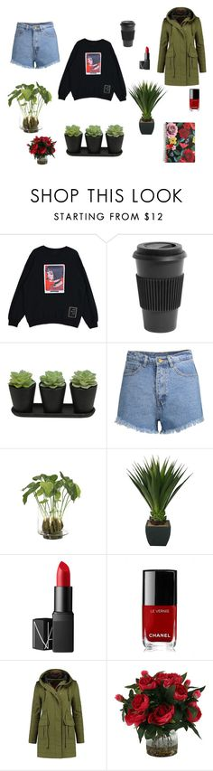 """""""red"""" by derinoncag on Polyvore featuring Homage, NDI, NARS Cosmetics, Chanel, Avery ve Vera Bradley"""