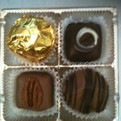 Hand Made Belgian Chocolates by Brooke's Candy Co. Dana, IN. Www.brookescandyco.com