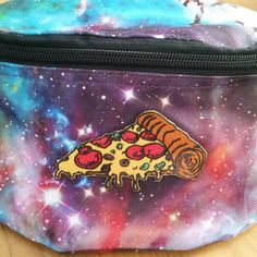 melancholymurry sent us this amazing pic of their out-of-this-world bag featuring our pizza patch! Get yours now extremelargeness.com