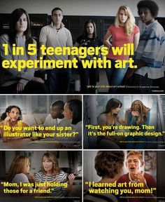 1 in 5 Teenagers Will Experiment With Art