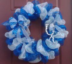 Jeanne's UK wreath - University of Kentucky Wildcats