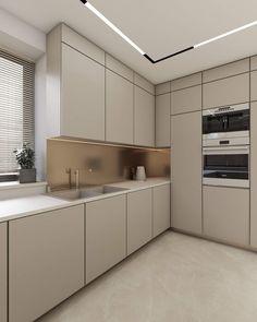 Kitchen Room Design, Modern Kitchen Design, Interior Design Kitchen, Modern Luxury Bedroom, Luxurious Bedrooms, Apartment Goals, Fashion Room, Best Interior, Kitchen Storage