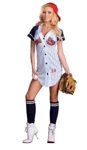 Cute Baseballer Costume