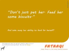 Ad 4 in self-created campaign in FATAAQ series, this time for street dogs...