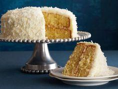 Coconut Cake recipe from Ina Garten via Food Network