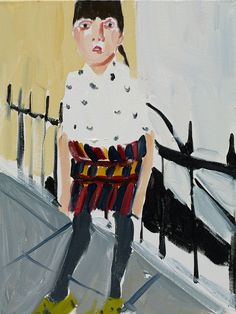 chantal joffe artist | Chantal-Joffe-Esme-by-the-Railings.jpg
