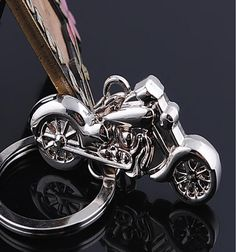 High Simulation Motorcycle Keychain
