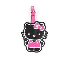 Hello Kitty Luggage Tag: Midnight