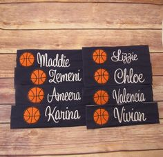 Personalized Basketball Team Gifts, Basketball Team Headbands, Sport Team Headbands,Custom Basketball Headbands , Basketball Gifts for team