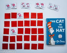 Tomorrow is Dr. Seuss's birthday, so this week we've been reading a few of his books and doing a couple related activities. The Boy on F...