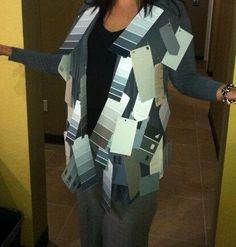 Best DIY adult costume...50 Shades of Grey!!! Love it!!!! Great idea for next year!