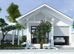 Công ty xây dựng Thanh Niên giới thiệu bàiTư vấn thiết kế nhà cấp 4 vườn mái thái diện tích 6,5x18m. Mẫu thiết kế nhà cấp 4 mái thái đơn gi...