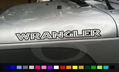 Jeep Wrangler Islander Style Hood Decals 1 Pair