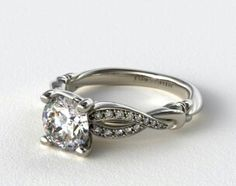 From James Allen this is my all time favorite and definitely the ring I want. My engagement is a few years away due to money and jobs but I hope this design is still available.