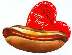 Hot Dog Valentine