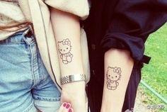 Hello Kitty - Matching Tattoos