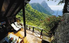 The Ladera Resort in St. Lucia Resort | The 30 Most Gorgeous Living Spaces In The World