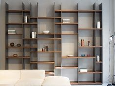 JOHAN ist zeitloses Design in charismatischer Farb- und Fo Bookshelf Design, Bookcase Shelves, Shelving, Home Office Design, Home Interior Design, House Design, Cabinet Furniture, Furniture Design, Muebles Living