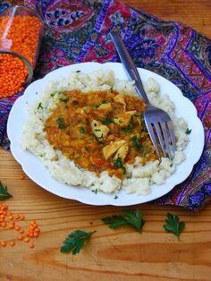 Makacska konyhája: Csirke curry vöröslencsével