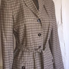 Ann Taylor size 6 Gorgeous jacket. with the pink undertone great condition!! Jackets & Coats
