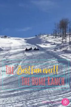 The Best Fun ever!! The Home Ranch ... #funinsnow #duderanch#itsabitcold #snowfordays #colorodo#snowtubbing #morefun #lovesnow#steamboatsprings @thehomeranch with @lexi.and.stitch @darviny.d  Download my free ebook: https://beautiful.darviny.com/