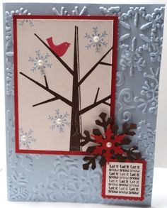 christmas cards ideas | Roberta Stamps: Christmas/Winter card idea how to...