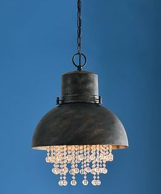 Another great find on #zulily! Nicole One-Light Pendant #zulilyfinds