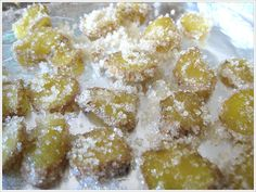 Candied Ginger and Ginger Ale Recipe