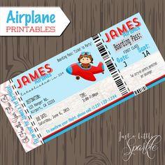 Pilot Invitations cards-DIY lil pilots by justalittlesparkle