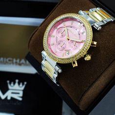 Michael Kors MK6140 | @MyRich.de #MichaelKors #michaelkorswatch #mk6140 #mk #original #official #watch #style #uhr #trends #womensfashion #swarovski #chronograph #lifestyle #brands #jetset #onlineshop #luxus #juwelry #luxury #lady #fashion #2017 #rosa #silver #bicolor #gold #steel #accessories