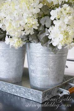 14 best tingalvanized steel wedding theme images on pinterest galvanized tin in the summer kitchen mightylinksfo
