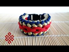 Sanctified Paracord Bracelet (Chain Mail Endless Falls) with Buckles Tutorial - YouTube