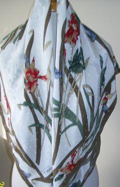 Vintage neck scarf  designer scarf  Peter & by NewtoUVintage