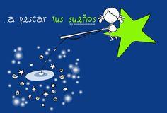 a pescar tus sueños ♡ Teresa Restegui http://www.pinterest.com/teretegui/ ♡