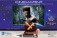 Cinemarine Bodrum Turgutreis D Marin Yazlık Sineması'nda Bu Hafta; Wolverine.. 21:45'de.