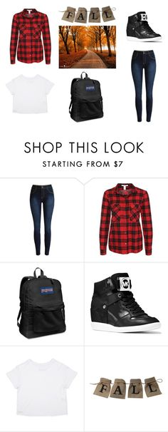"""Fall Time"" by ry-luve on Polyvore featuring NLY Trend, JanSport and MICHAEL Michael Kors"