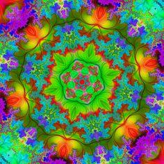 Animated kaleidoscope